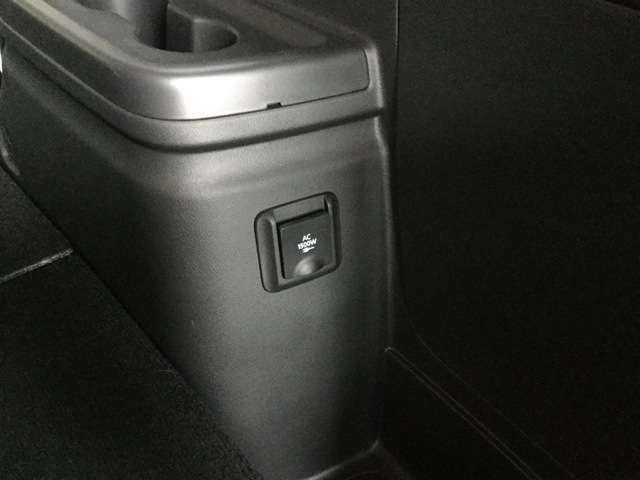 AC100V電源を装備アウトドアでのご使用はもちろん、災害時等には非常用電源としても使用できます。