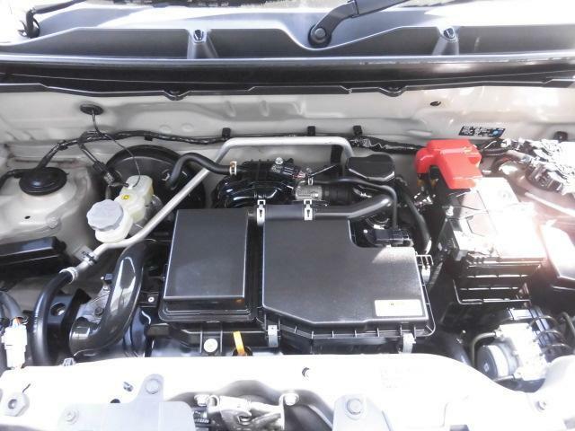 高性能660 DOHC VVTエンジンを搭載しています。