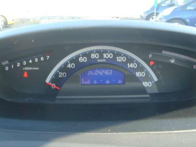 燃費計付きメーターパネルです!!