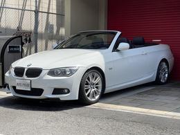 BMW 3シリーズカブリオレ 335i Mスポーツパッケージ 7速DCT 後期 黒革 地デジ 電動TOP