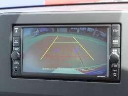 駐車するときは、このモニターに車の後方の映像が映るので後方確認をしながら安心して駐車できます!