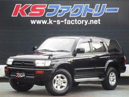 トヨタ ハイラックスサーフ 2.7 SSR-X ワイドボディ 4WD 新品塗装 5速MT 背面レス サンルーフ
