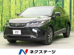 トヨタ ハリアー 2.0 G レザーパッケージ 純正9型ナビ 黒革シート