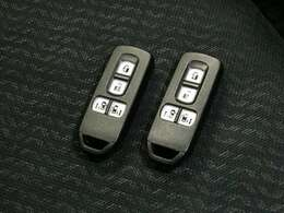 スマートキーです。ポケットなどキーが近くに有れば、エンジンの始動が出来ます。
