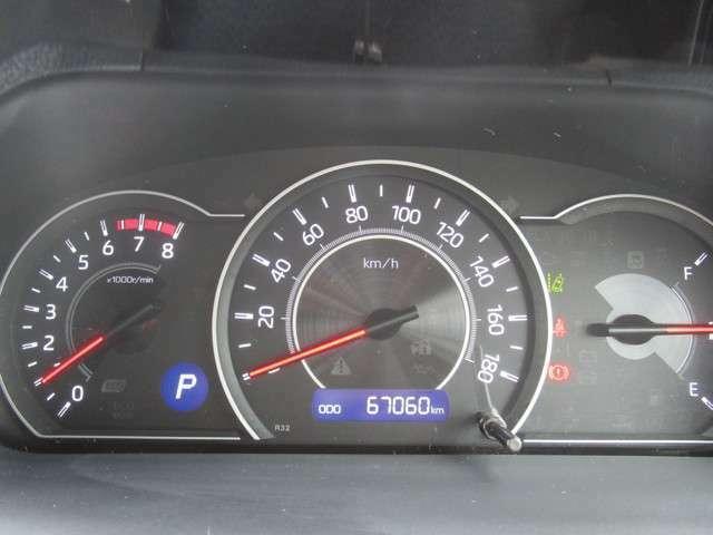 大きく見やすいスピードメーター タコメーター(エンジン回転計)もあります 距離は多いですが、まだまだこれからです! メーカー保証継承致します