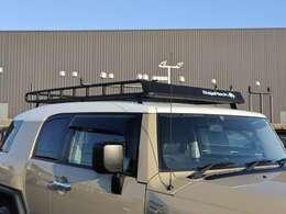 【 USバハラック スタンダードラック 】BajaRackのスタンダードラック搭載!耐荷重は約130kg!積載量も向上、見た目もよりアクティブになりますね!