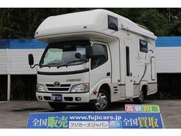 トヨタ カムロード キャンピング ナッツRV製 クレソン ボーダーエディション