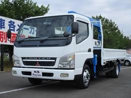三菱ふそう キャンター 4.9D 4段クレーン 2トン積載 車両総重量6065kg 最大積載量2000kg