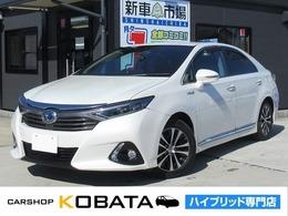 トヨタ SAI 2.4 G Aパッケージ メーカーナビ 本革シート 1年保証付