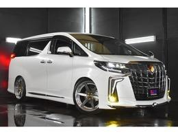トヨタ アルファード 2.5 S 4WD モデリスタ エアロ GDマフラー LEDフォグ