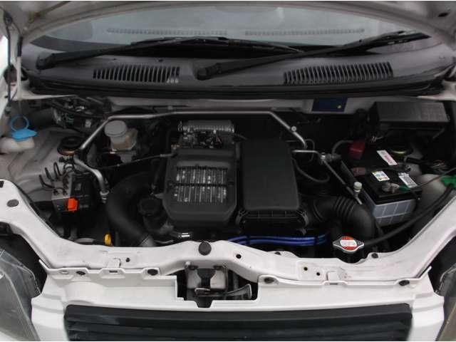 丈夫でパワフル 低速のトルクも有るので 乗りやすいエンジンです。