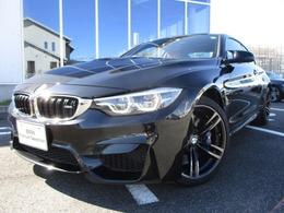 BMW M4クーペ M DCT ドライブロジック サキールオレンジ革アダプティブMサス19AW