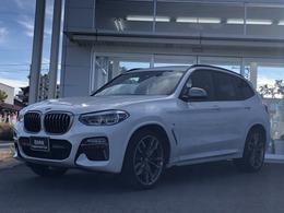 BMW X3 M40d ディーゼルターボ 4WD Pサンルーフ・Rシートアジャストメント