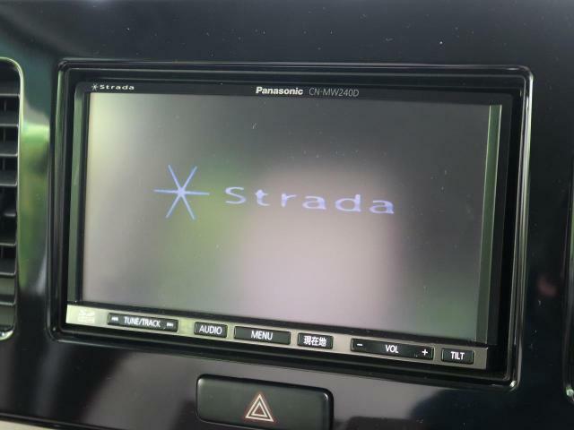 【メモリナビ】使いやすいナビで目的地までしっかり案内してくれます。CD/DVDの再生もでき、お車の運転がさらに楽しくなりますね!!