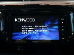 KENWOODナビ付き!地デジTV、DVD再生、音楽録音機能もあります!