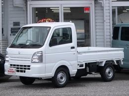 スズキ キャリイ 660 KCエアコン・パワステ 3方開 2WD 3AT エアバッグ ABS 登録済み未使用車