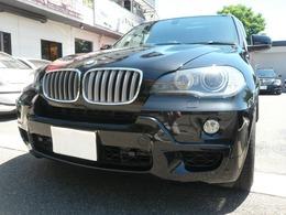 BMW X5 4.8i Mスポーツパッケージ 4WD 黒革/SR/地デジ/Rモニター/Bカメラ