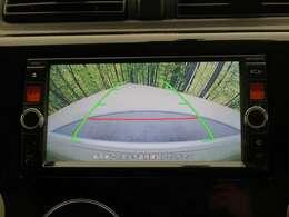 純正カラーバックモニターを装備!【車庫入れや駐車の際にあると安心な装備です。純正ならではの、バックガイドラインも出てますので、ラインに沿って駐車すれば、ピッタリ収まります。】