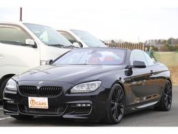 BMW 6シリーズカブリオレ 650i Mスポーツパッケージ 赤革シート/シートヒーター/20AW