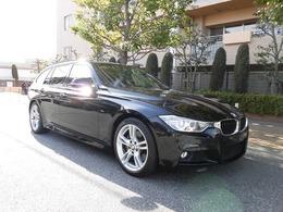 BMW 3シリーズツーリング 335i Mスポーツ パノラマサンルーフ 黒革シート
