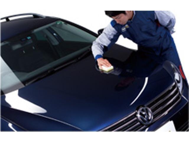 Aプラン画像:登録済未使用車の状態で施工するからこそ長く保つことができます。