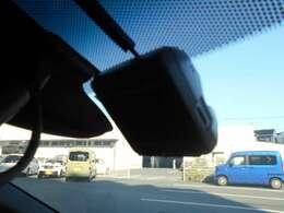 前後ドライブレコーダー装備です。