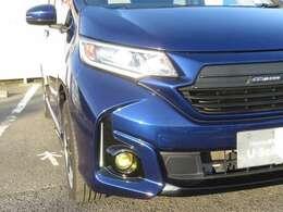 LEDヘッドライト、FOGランプ付