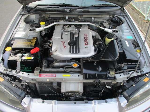 安心のノーマルエンジン