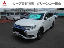三菱 アウトランダーPHEV 2.0 G ナビパッケージ 4WD 電気温水ヒーター&バッテリー残存率84.3