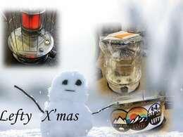 レフティーからのクリスマスプレゼント!屋外で使えるストーブ♪今年の冬は「冬ゴモラナイ!」