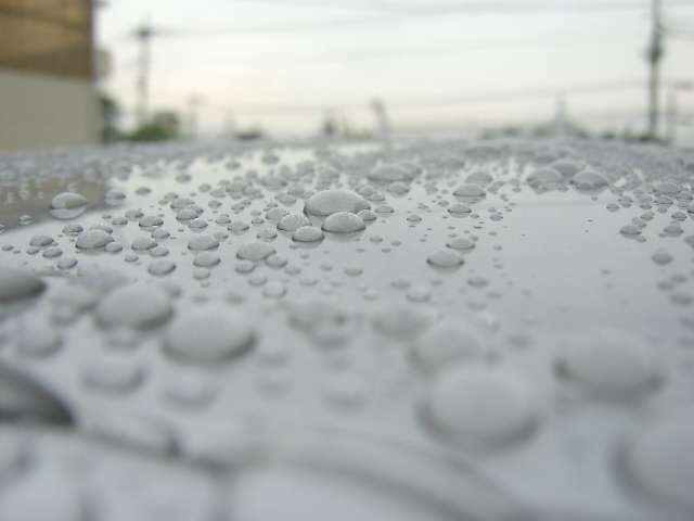 Aプラン画像:水で濡らすとコーティングが掛かっているのが、良く分かると思います