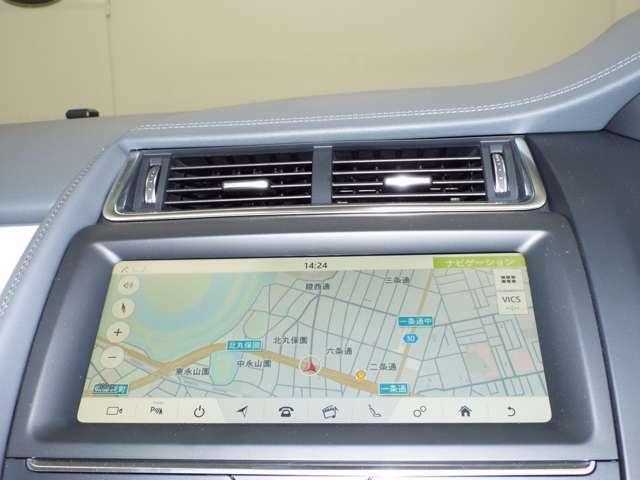 ナビゲーション装備。Bluetoothにも対応しております。サラウンドカメラシステムも搭載されており、360度見渡せますので、駐車時も安心です。