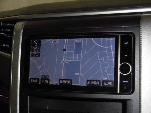HDDナビ付で初めての道や遠出も安心です♪もちろんDVDやTV(フルセグ)も楽しめます!