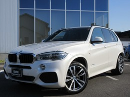 BMW X5 xドライブ 35d Mスポーツ 4WD SRLED20AW茶革ACCSクローズD禁煙1オナ