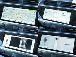 ナビゲーション「センターコンソール周辺にはタッチパネル式のナビゲーション&コントロールパネルがスマートな形で、配備されております。」