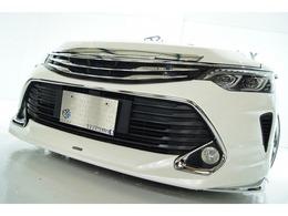 トヨタ カムリハイブリッド 2.5 Gパッケージ 新品モデリスタ新品ヘッドライト新品アルミ