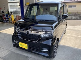 ホンダ N-BOX カスタム 660 G L ホンダセンシング 4WD 登録済未使用車 ETC 純正14AW LEDライト