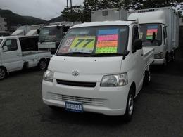 トヨタ タウンエーストラック 平ボデー 新免許対応  5速マニュアル