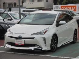 トヨタ プリウス 1.8 S ツーリングセレクション 合成皮革シート/フルエアロ/オートドライブ