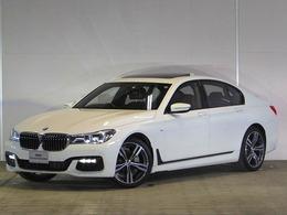 BMW 7シリーズ 740d xドライブ Mスポーツ ディーゼルターボ 4WD デモカー モカレザー S/R Dキー