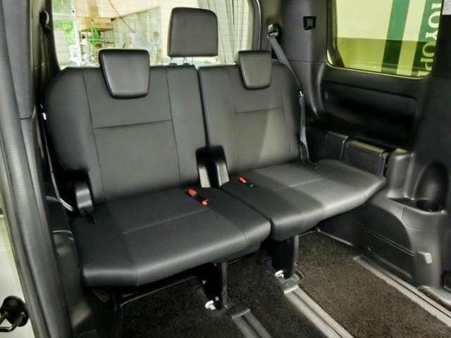 サードシートだってゆったり座れます。