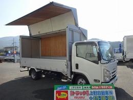 いすゞ エルフ アルミウイング 標準幅 ロング 1.4t積載 床板張り 4.3mボディ