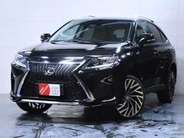 レクサス RXハイブリッド 450h バージョンL エアサスペンション 4WD 黒本革 新品エアロ 新品ライト 新品21AW