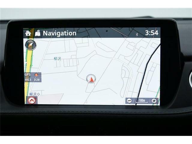 マツダコネクトナビ搭載!オプションのフルセグTVにDVD、Bluetooth対応♪USBオーディオ機能も利用可能です♪