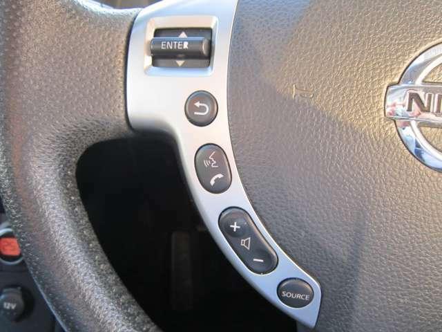 ★ステアリング左側にはオーディオコントロールスイッチがございます。