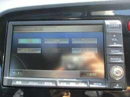 純正HDDナビです。DVD/CD再生のほかにもワンセグTV、ミュージックサーバーも装備されとっても便利です!