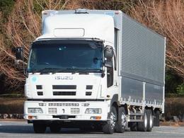 いすゞ ギガ 13.9t4軸低床アルミウイング 内寸-長960x幅239x高265