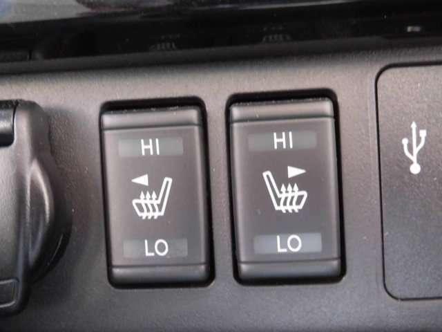 冬季にあって嬉しいシートヒーターガ付いております。