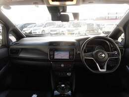 見通しが良く運転しやすい視界でございます。
