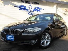 BMW 5シリーズ 528i 黒革 サンルーフ 地デジ 直6エンジン